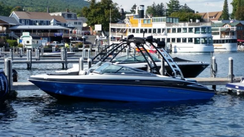 Lake George In Water Boat Show